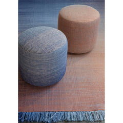 Nanimarquina Shade Poufs and Shade Rug Palette 2 Klein Blue