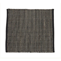Nanimarquina Tatami Rug Black Sample Detail