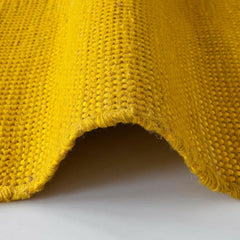 Nanimarquina Tatami Rug Yellow Edge Detail