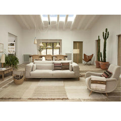 Nanimarquina Tres Vegetal Rug in Living Room