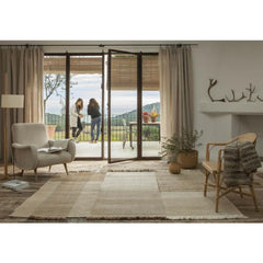 Nanimarquina Tres Vegetal Rug in Room with Gio Ponti Chair