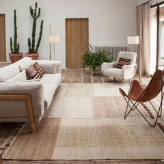 Nanimarquina Tres Vegetal Rug Styled in Living Room