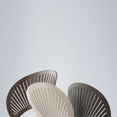 Trinidad Chair by Nanna Ditzel for Fredericia in Smoked Oak, Light Grey Oak, and Grey Oak with Flint Frame