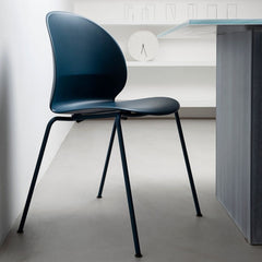 Dark Blue N02 Recycle Chair by Nendo for Fritz Hansen