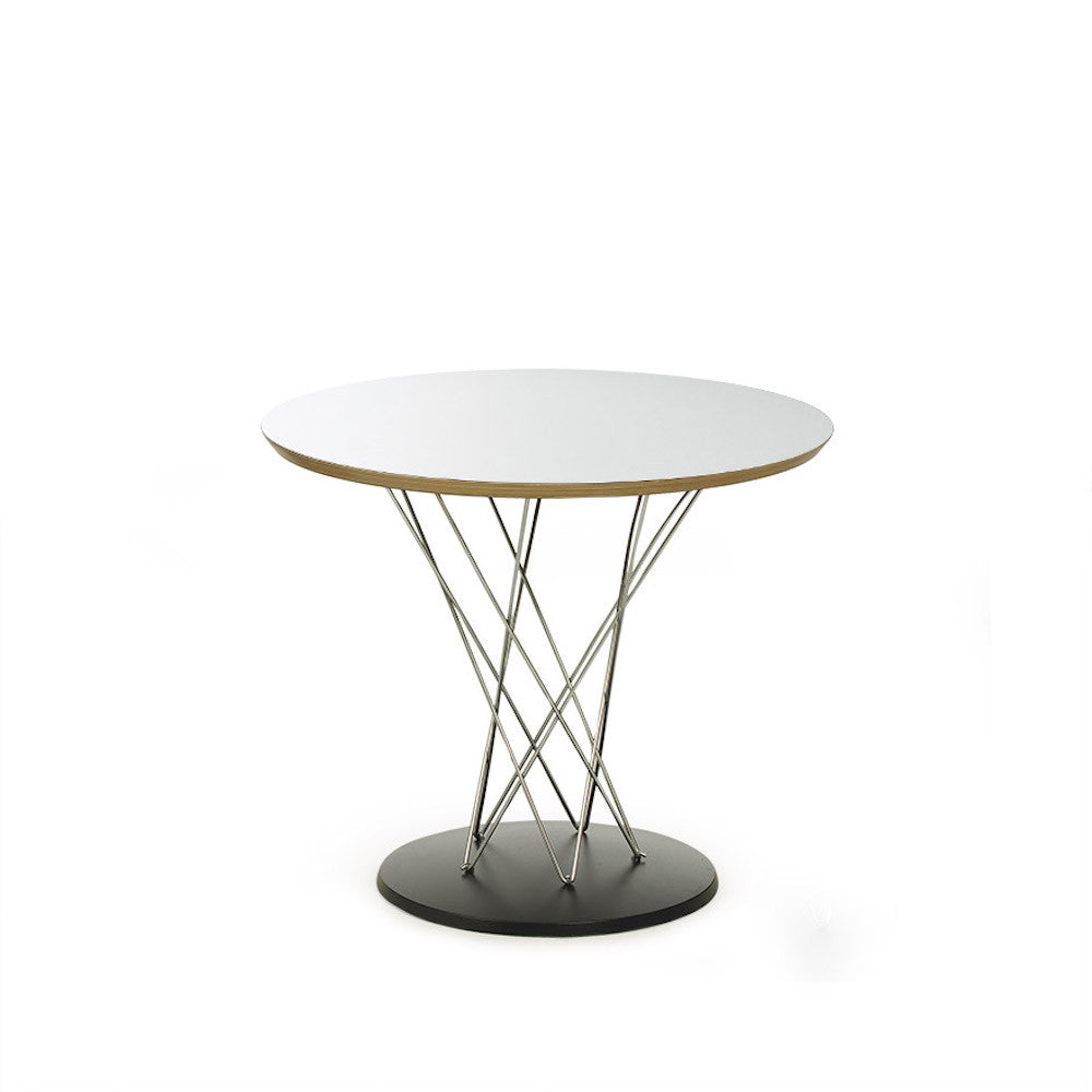 Noguchi Cyclone Side Table White Knoll