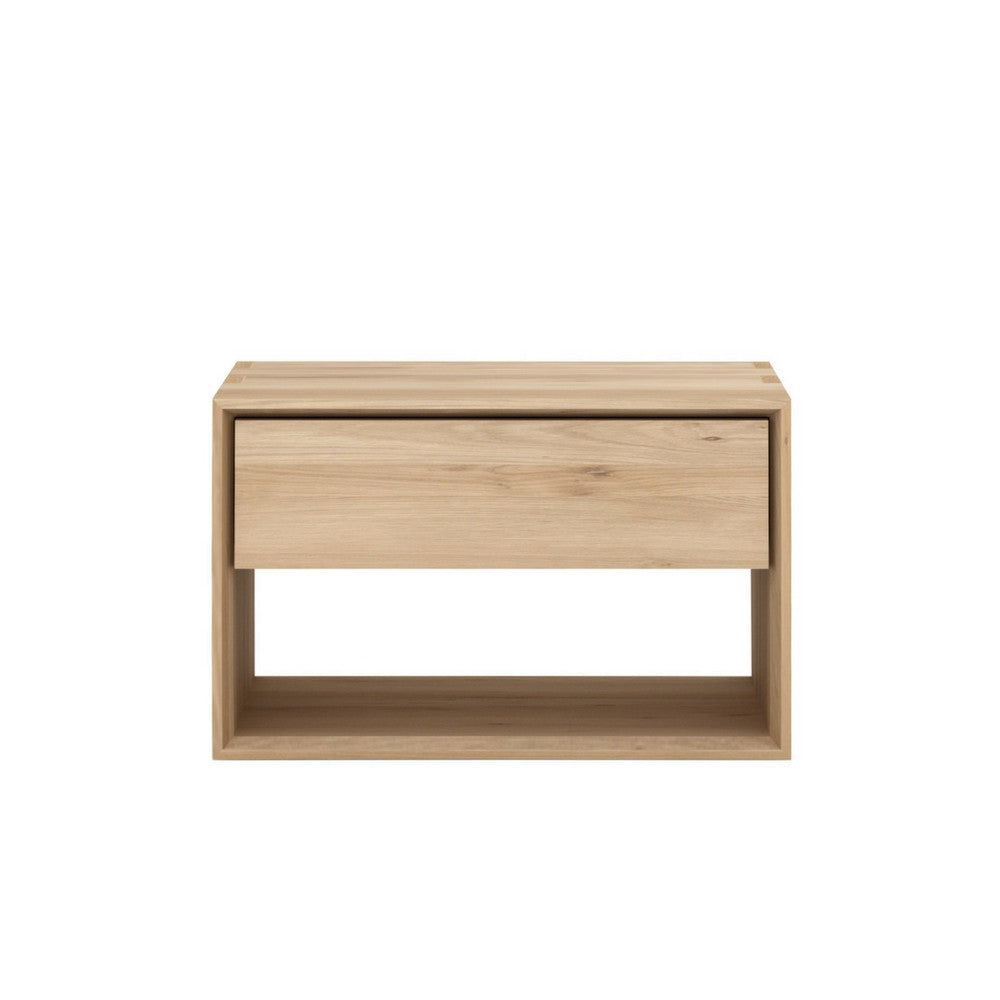 Nordic Oak Bedside Table by Ethnicraft