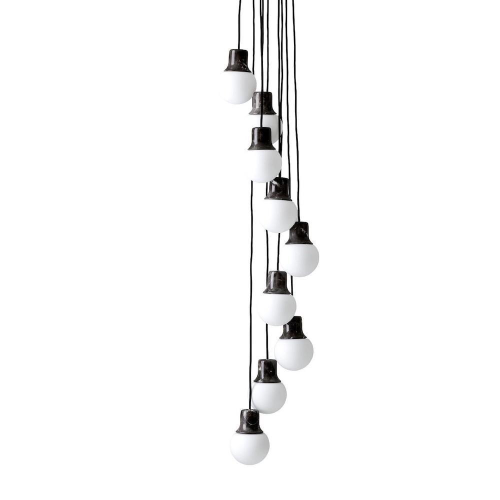 NA6 Mass Pendant Light Chandelier by Norm Architects for And Tradition Copenhagen