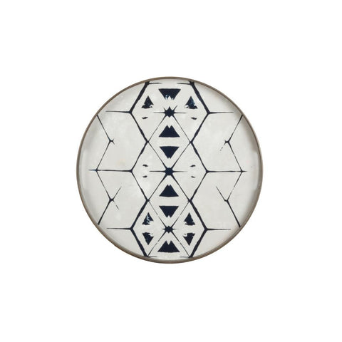 Notre Monde Tribal Hexagon Mirror Tray