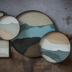 Notre Monde Wabi Sabi Trays Styled in Room