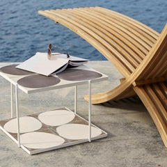 Nozib Sun Lounger with Marrakech Table by Skargaarden