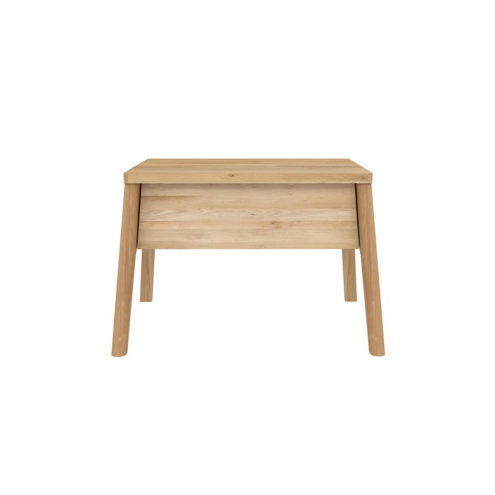 Oak Air Bedside Table with One Drawer by Ethnicraft