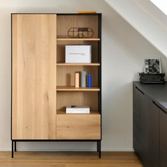 Oak Blackbird Cupboard by Ethnicraft