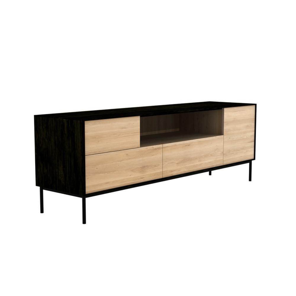 Ethnicraft Oak Blackbird Tv Cupboard Modern Furniture Palette  # Ethnicraft Meuble Tv