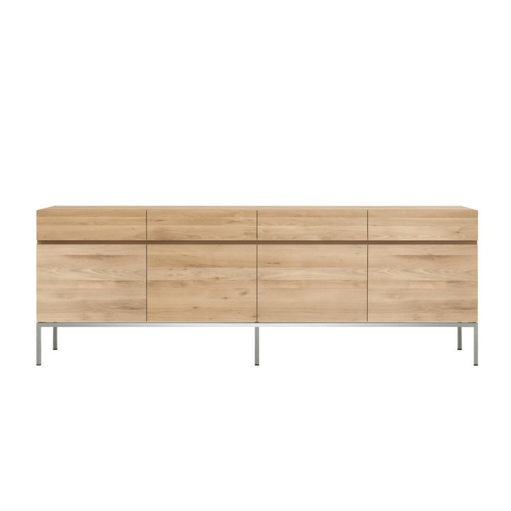 Ethnicraft Oak Ligna Sideboard 4-Door