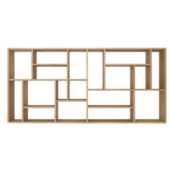 Oak M Rack by Ethnicraft in Horizontal Position