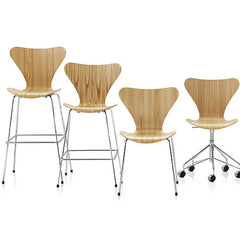 Fritz Hansen Series 7 Collection in Oak