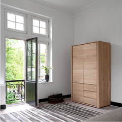 Ethnicraft Oak Wardrobe in Room