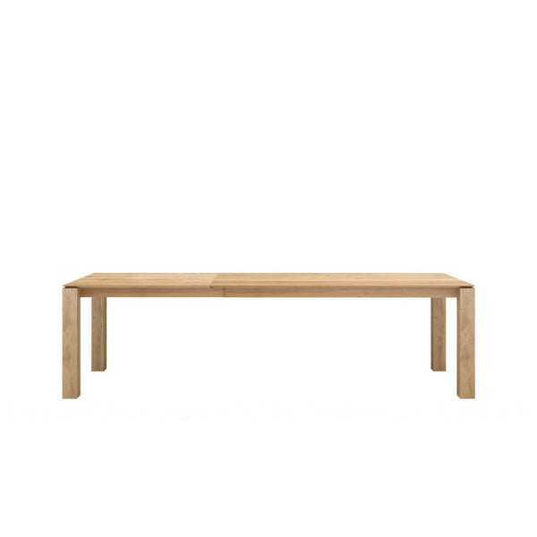 Oak Slice Extendable Dining Table Ethnicraft Palette