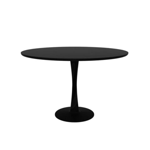 Ethnicraft Black Oak Torsion Dining Table