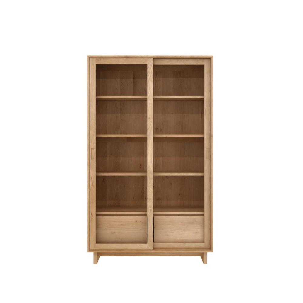 Oak Wave Storage Cupboard by Ethnicraft