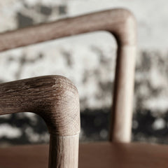 Ole Wanscher Colonial Chair Arm Detail Carl Hansen and Son