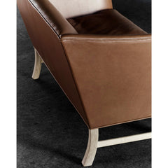 Ole Wanscher OW603 Sofa Brown Leather Detail Carl Hansen & Son
