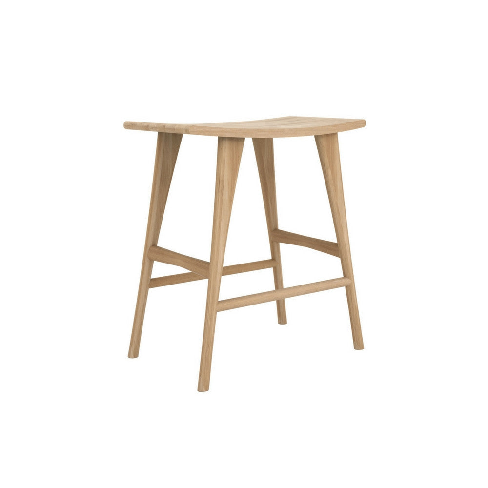 Osso High Stool in Oak by Ethnicraft