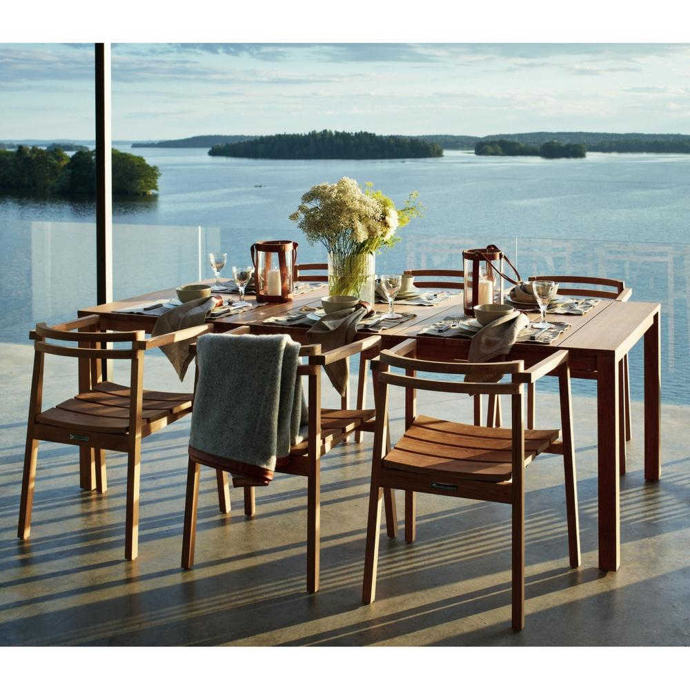 marstrand skargaarden teak oxno candle chair palette with design chairs laterns products kitchen and oxn parlor table by modern dining
