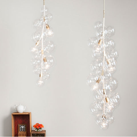 Pelle X-Tall Bubble Chandelier