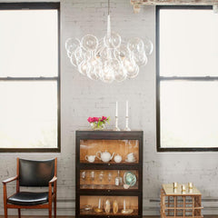 PELLE Supra Bubble Chandelier in Situ