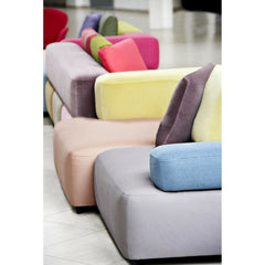 Piero Lissoni Alphabet Sofa Multicolored Detail Fritz Hansen