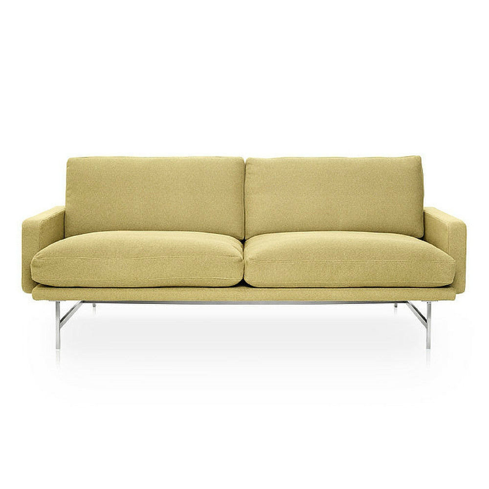 Piero Lissoni Two Seat Sofa Light Yellow Fritz Hansen
