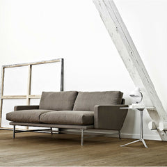 Piero Lissoni Sofa in Room with Kasper Salto Little Friend Table