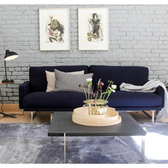 Fritz Hansen Piero Lissoni Sofa PL112 Dark Blue San Francisco Showroom