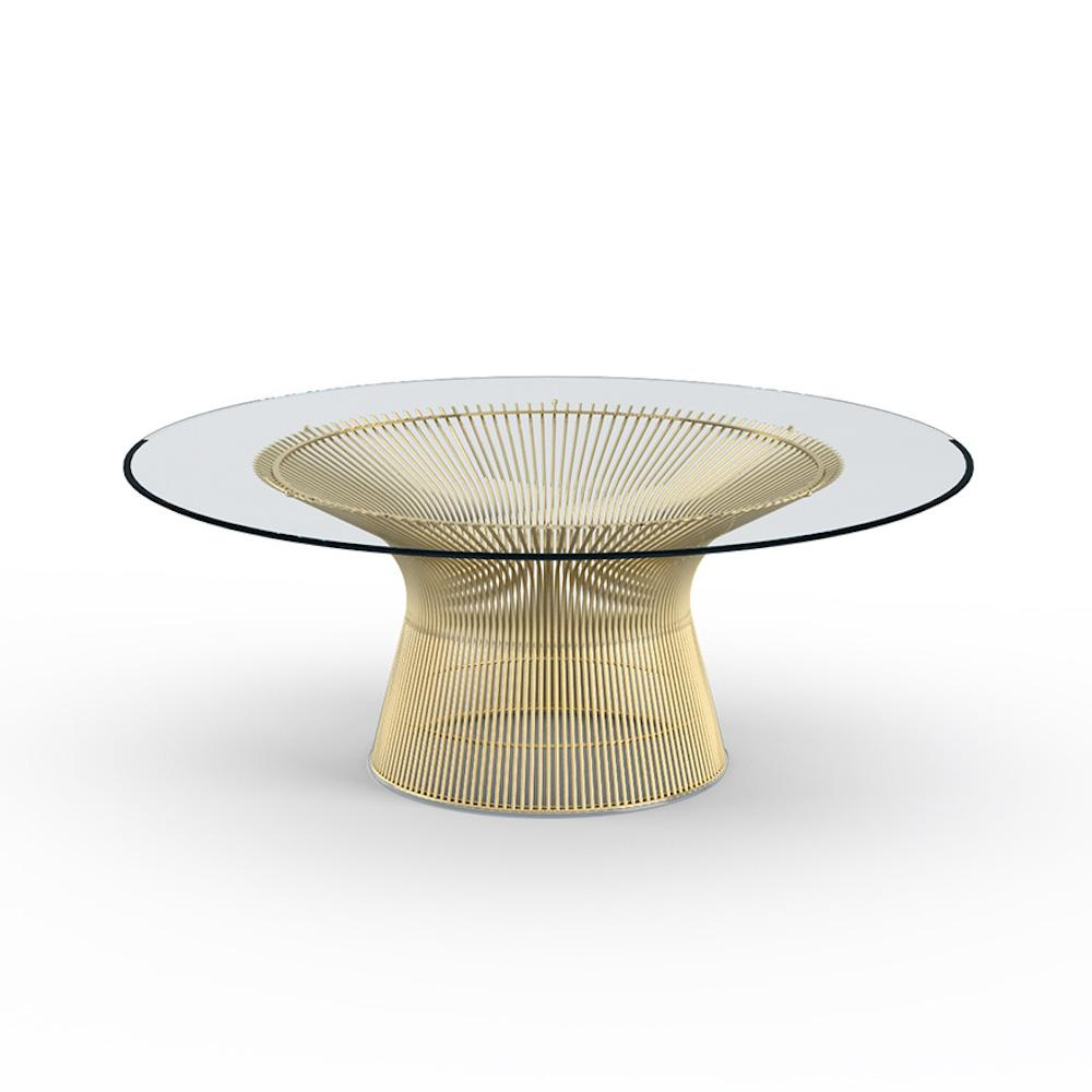Knoll Platner Coffee Table GOLD