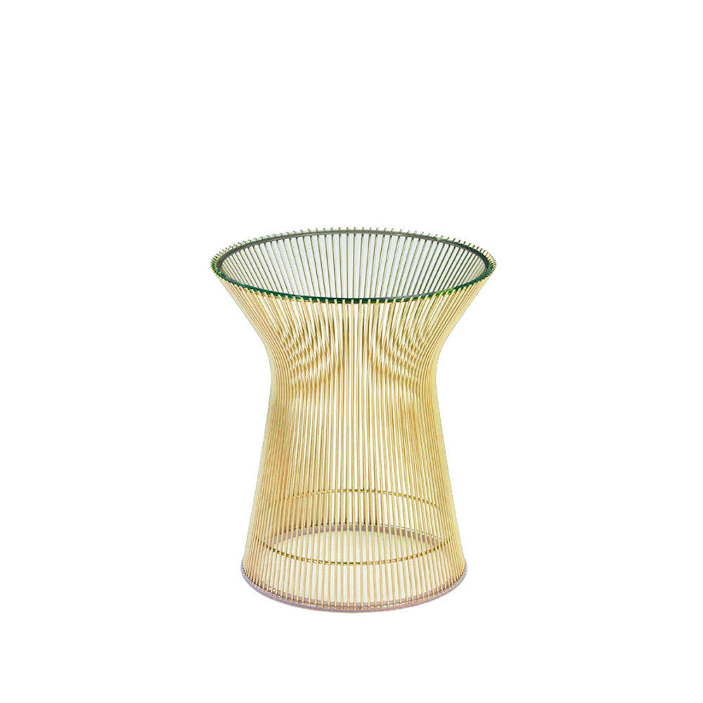 Platner Gold Side Table