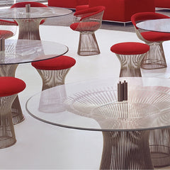 Platner Tables Chairs and Stools Warren Platner for Knoll