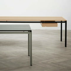 Poul Kjaerholm PK52 Desk with Natural Oak Drawer Carl Hansen and Son.
