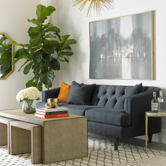Precedent Emma Sofa with Zaine Nesting Coffee Tables