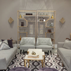 Ainsley Etageres Precedent Showroom Highpoint Market