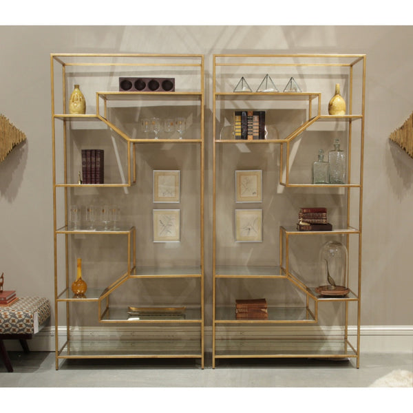 Ainsley Etagere Modern Furniture Palette Amp Parlor