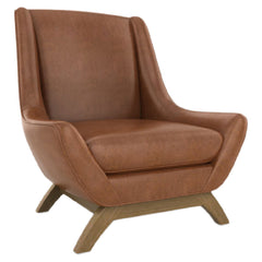 Precedent Furniture Leather Jasper Chair Reynolds Caramel formerly Jensen Chair by DwellStudio