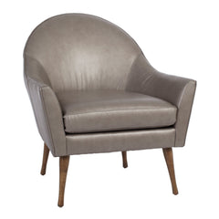 Campbell Chair Reynolds Pewter Leather Precedent Furniture