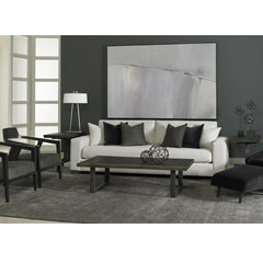 Precedent Furniture Connor Sofa model 2667 in room with Modern Loft Collection