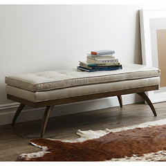 Precedent Furniture Dayton Bench with Books Formerly DwellStudio Erickson Bench