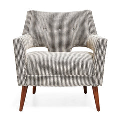 Precedent Furniture Hunter Chair Front View formerly DwellStudio Edison Chair