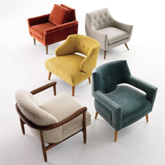 Precedent Furniture Marley Chair in Group Aerial Shot