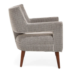 Precedent Furniture Hunter Chair Side View formerly DwellStudio Edison Chair