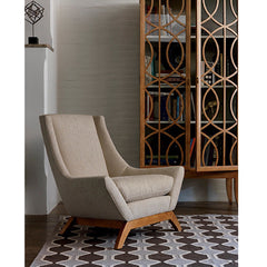 Precedent Furniture Jasper Chair in Room at an angle formerly DwellStudio Jensen Chair