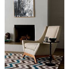 Precedent Furniture Jasper Chair by Fireplace